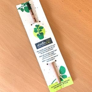 Sprout Pencil With Single-Sided Basil Seed Paper